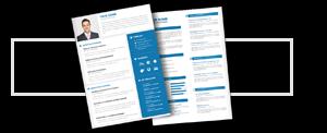 CV pour un cadre expérimenté